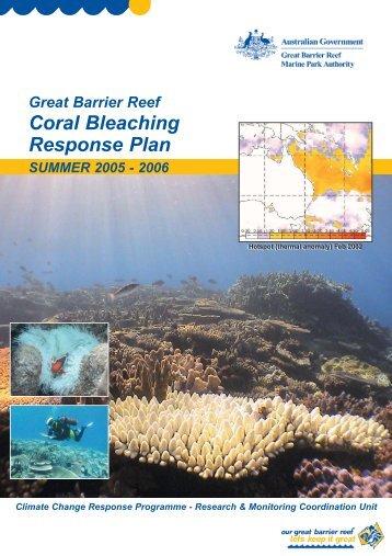 Coral Bleaching Response Plan - Great Barrier Reef Marine Park ...