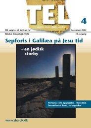 Sepforis i Galilæa på Jesu tid - Selskab for Bibelsk Arkæologi