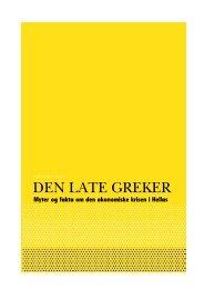 notatet «Den late greker - Manifest Analyse