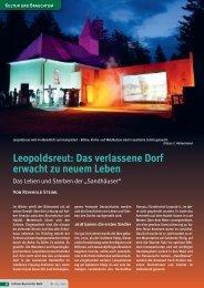 Leopoldsreut - Das verlassene Dorf erwacht zum ... - Haidmühle