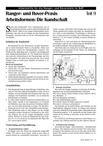 Die Kundschaft - valk-online.de