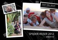 SPEJDER-REJSER 2012 - Spejdernet