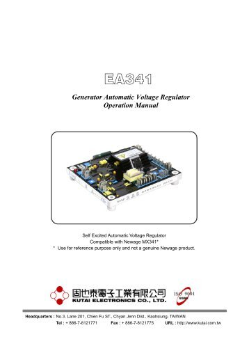 Fitting and operatingstab generator automatic voltage regulator operation manual current asfbconference2016 Images