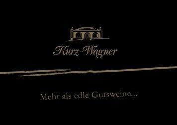 BESUCHEN SIE UNS - Weingut Kurz-Wagner