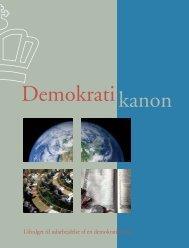 Selve Demokratikanonen - HistorieWeb.dk