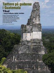 Tættere på guderne i Guatemala