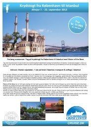 Krydstogt fra København til Istanbul