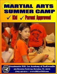 2015 Martial Art Summer Camp