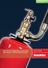 MX 1230 Fire Extinguishing System using 3MTM NovecTM 1230 ...