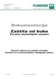 Dokumentacija Zaštita od buke