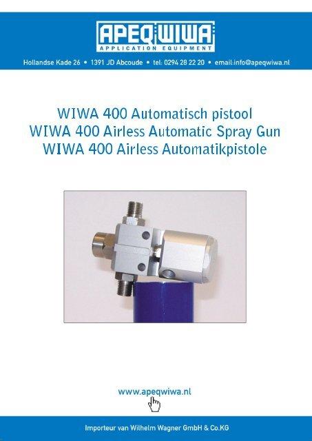 WIWA 400 Automatisch pistool - Apeqwiwa