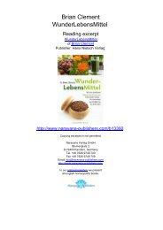 Zehn weit verbreitete Ernährungsmythen - Narayana Publishers