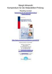 Margit Allmeroth Kompendium für die ... - Narayana Publishers