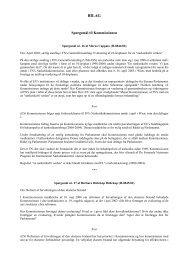 Spørgsmål til Kommissionen - Europa