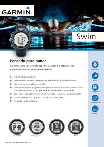 Funciones del SWIM™ pensado para nadar - Vic Sports