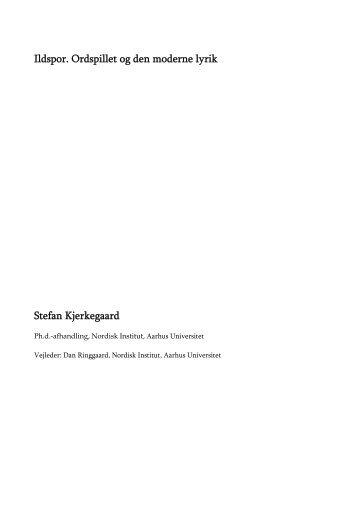 Inledning: Om ordspillet - PURE - Aarhus Universitet