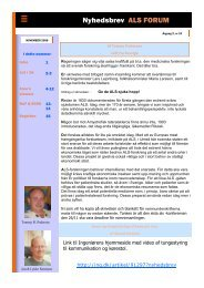 Arne's klumme - ALS Gruppen Vestjylland