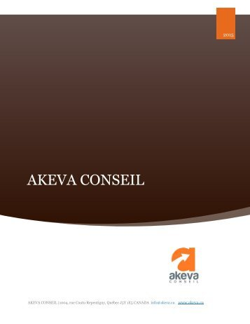 AKEVA CONSEIL