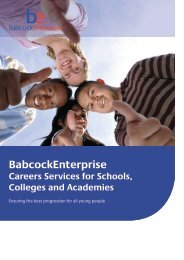 BabcockEnterprise - Sussex Council of Training Providers