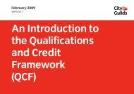 QCF - Sussex Council of Training Providers