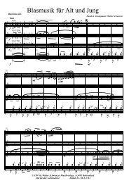 Blasmusik für alt und jung.pdf - Walter Schwanzer Musikverlage