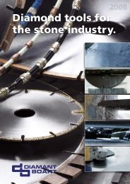 Diamond Tools For The Stone Industry. - Diamant - sibtain brothers