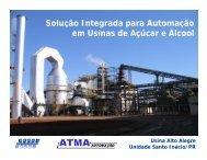 Solução Integrada para Automação em Usinas de Açúcar e Álcool