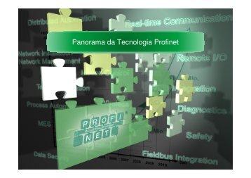 Panorama da Tecnologia Profinet - Associação PROFIBUS Brasil