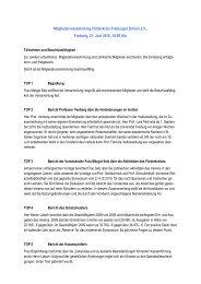 Protokoll der 3. Mitgliederversammlung 2010 - Aktionskreis ...