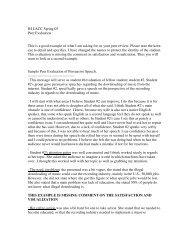 Peer Critque on Persuasion JH LACC Spring 05 - Speechsuccess.net