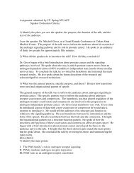 Outside Speech Critique I.T. Spr. 05 LACC - Speechsuccess.net