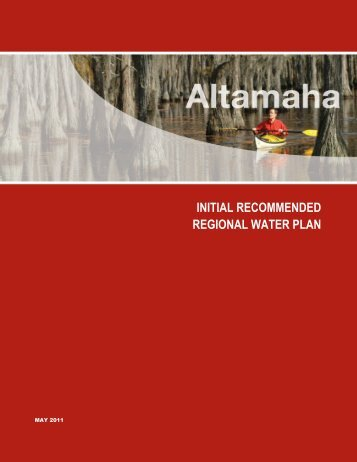 initial recommended regional water plan - Georgia's State Water Plan