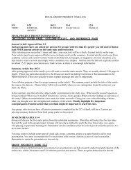 Assignment descriptions and due dates. - Speechsuccess.net