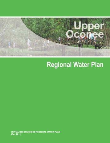 Regional Water Plan - Georgia's State Water Plan