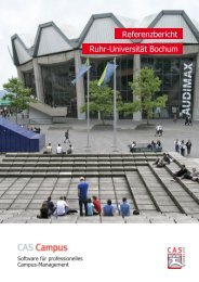 Referenzbericht Ruhr-Universität Bochum - CAS Education