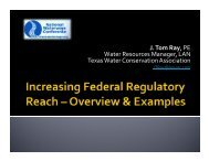J. Tom Ray, P.E., D.WRE - National Waterways Conference