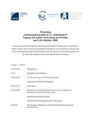 Ordnungsökonomik im 21. Jahrhundert, 9.-10. Oktober 2009