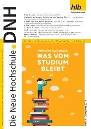 Die Neue Hochschule Heft 3/2015