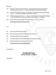 RAHMENVERTRAG nach § 125 Abs. 2 SGB V - physiotics.de