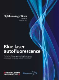 Ophthalmology Times Europe - Blue Laser Autofluorescence - innova
