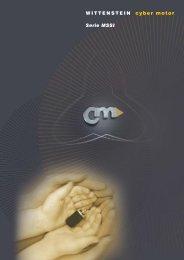 WITTENSTEIN cyber motor Serie MSSI - WITTENSTEIN alpha