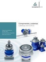 Componentes y sistemas Catálogo 2012/2013 - WITTENSTEIN alpha