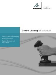 Control Loading for Simulation - WITTENSTEIN alpha