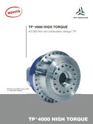 TP+4000 HIGH TORQUE - WITTENSTEIN alpha
