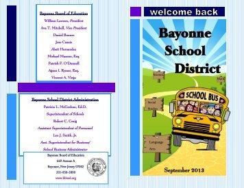 Bayonne School District - Bayonne Board of Education