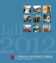 Fall 2012 catalog - Indiana University Press