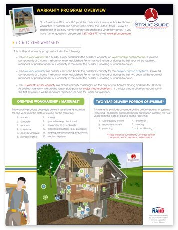 De enrolling homes from home warranty insurance and the warranty program overview strucsure home warranty malvernweather Images