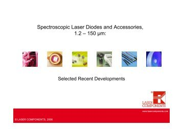 Spectroscopic Laser Diodes and Accessories.pdf - DLS Lab