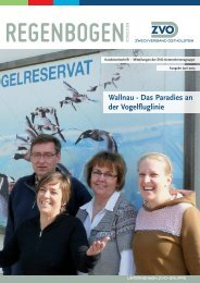 ZVO Kundenzeitschrift Regenbogen Ostholstein Ausgabe Juni 2013