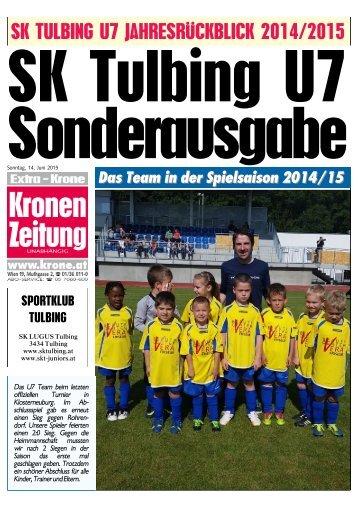 SK Tulbing U7 Sonderausgabe